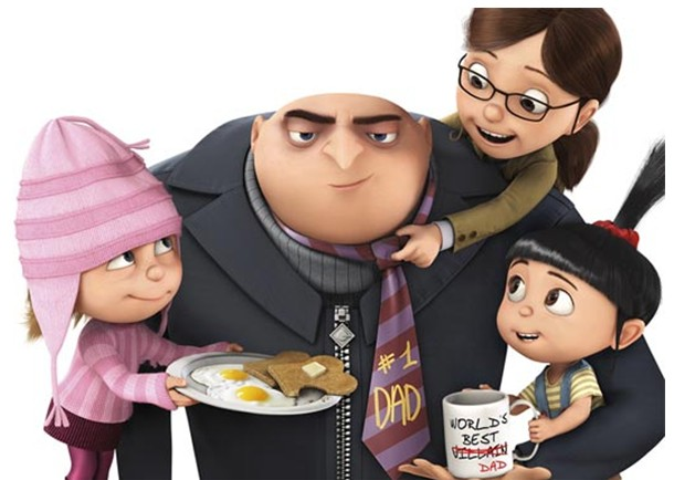 Enjoy Despicable Me 3D BD/ Blu-ray /DVD in the Company of DVDFab