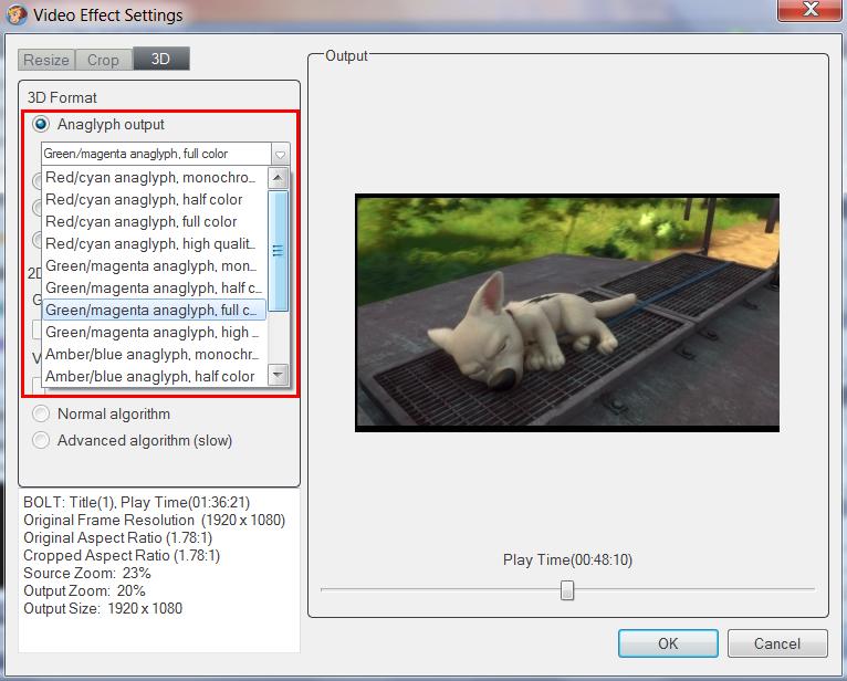 Axara 2D to 3D Video Converter 2.4.2